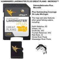 HUMMINBIRD LAKEMASTER PLUS GREAT PLAINS -MICROSD™ Plus Coverage on Lake Michigan