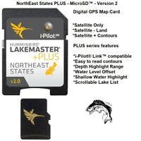 Humminbird LakeMaster Chart NorthEast States PLUS Version 2- MICROSD™