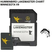 Humminbird LakeMaster Chart -Minnesota V8 Has Added Over 340 New Lakes