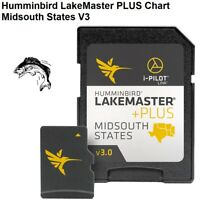 Humminbird LakeMaster PLUS Chart -Midsouth States V3: 270 High Definition Lakes