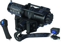 KFI Stealth 3500 LB ATV UTV SXS Vehicles Winch With Synthetic Rope SE35