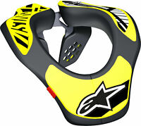 Alpinestars Youth Neck Support Brace Protector Black/Yellow Motocross ATV