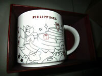 2019 Starbucks Philippines Chritmas holiday MUG BRAND NEW with sku new