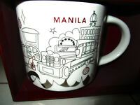 2019 Starbucks Philippines Manila Chritmas holiday MUG BRAND NEW with sku new
