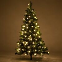 Prelit Walkway Christmas Trees Incandescent LED Lights 2 and 3 ft Lighted Trees