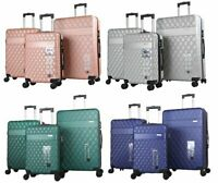 Mirage Diva Hardside 360 Spinner 3 Piece Luggage Set with Combination Lock