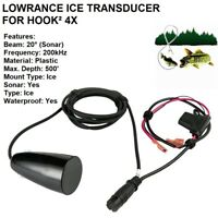 LOWRANCE ICE TRANSDUCER FOR HOOK² 4X, Frequency 200kHz, Max Depth: 500'