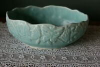 Vintage Nelson McCoy Butterfly Turquoise/Blue  Bowl