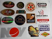 Oilfield Rig Boots Coots Red Adair Wild Well Control and crane hardhat sticker6
