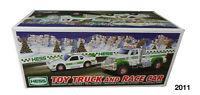 Hess Toy Truck & Race Car Set 2011 With Pullback Motor & Working Lights Gift