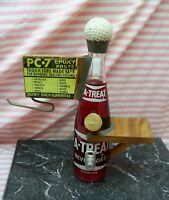 Vintage PC-7 Epoxy Counter Display Sign Advertising A-Treat Soda Hardware Store