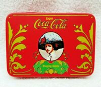 Vintage Coca Cola Playing Cards Two Decks in Matching Tin Box