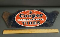 Vintage Stout Advertising Cooper Tire Metal Sign