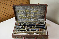 L5274- Vintage D. NOBLET Clarinet Estate Find Instrument
