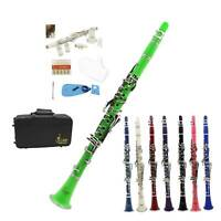 17 Keys Bb Clarinet +CareKit+Reed+Case with Full Set of Accessories