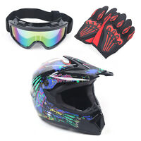 Motorcycle Helmet Adult Motocross ATV Dirt Bike Gift MTB Racing Helmet Protector