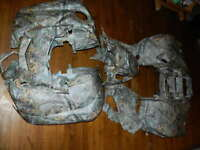 OEM 2016 2017 2018 Yamaha Grizzly 700 fenders plastics set realtree Xtra body