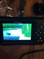 New Garmin STRIKER Plus 5cv with NO Transducer No Box Or Sunshade