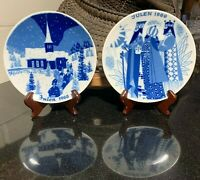 Porsgrund Norway Limited Edition Annual Julen Christmas Plates 1968