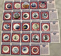 Lot 24 Different Vintage Amoco Oil promo Reproduction Political Campaign Pins