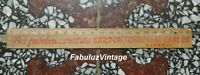 Vintage Rulers Wood Advertising Oh! Forgiveness C Is of / the Dial Chocolat