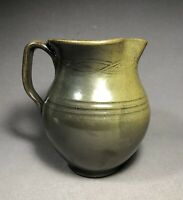 Vintage Jugtown North Carolina Pottery Frogskin Pitcher