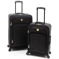 Carry on & Checked Luggage Set 2-Pcs Top Quality Expandable Spinner-21 & 25 Inch