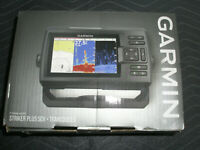Garmin Striker Plus 5CV Fish Finder With CV-20TM Transducer 010-01872-00