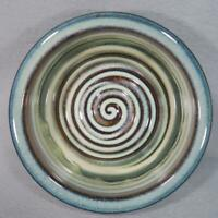 Bill Campbell Art Pottery Bowl with Signature Glaze - FREE SHIPPING