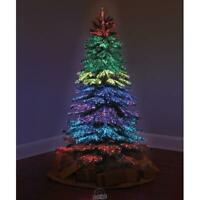 The 6 ft.Thousand Points Of Light Indoor/Outdoor Christmas Tree 23 Light Modes