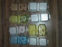 Vintage McDonald's styrofoam Food Containers