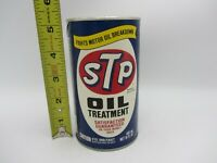 VTG FULL 15 oz STP OIL TREATMENT PULL POP TOP CARDBOARD CAN RACERS EDGE