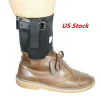 Tactical Universal Handgun Ankle Holster for Concealed Carry for Small Pistol