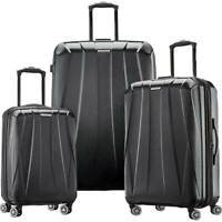 Samsonite Spinner Suitcase Set 3 Piece Black