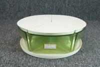 Vintage Blisscraft Of Hollywood 5 Storage Containers On Lazy Susan