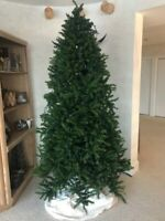 7.5 ft. Christmas Tree with Stand - Artificial Spruce