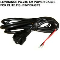LOWRANCE PC-24U 5M POWER CABLE FOR ELITE