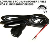 LOWRANCE PC-24U 5M POWER CABLE FOR ELITE Fishfinder/GPS