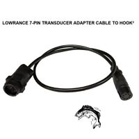 LOWRANCE 7-PIN TRANSDUCER ADAPTER CABLE TO A HOOK² UNIT To Any Navico 7-Pin