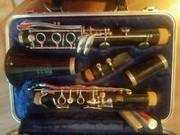 SELMER BUNDY Bb CLARINET JUST PRO SERVICED new pads! Band ready! Free returns