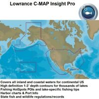 LOWRANCE C-MAP INSIGHT PRO MAX-N+ - M-NA-Y070-MS