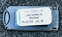 GARMIN Blue Chart CHIP for ONTARIO and QUEBEC -   G P S, colour MUS019R