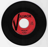 DOO WOP 45 THE ROOMATES GLORY OF LOVE ON VALMOR VG ORIGINAL