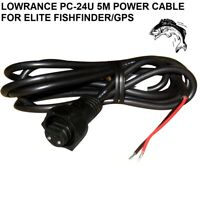 LOWRANCE PC 24U 5M POWER CABLE FOR ELITE Fishfinder GPS