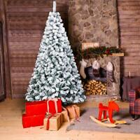 Popular 7 Feet Tall Christmas Tree W/Stand Holiday Season Indoor Outdoor White