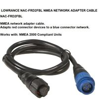 LOWRANCE NAC-FRD2FBL Network Adapt Cable Adapts Red Connector Devices To Blue