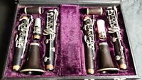Set Of 2 Beautiful Buffet Crampon C12 Bb Clarinets in**EXCELLENT CONDITION**