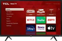 TCL 32Class 3 Series 720P HD LED Roku Smart TV 32S335 $159.99