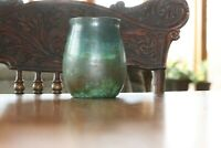 CLEWELL POTTERY 5.25quot; TALL ARTS AND CRAFTS VASE Signed Numbered