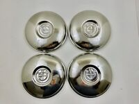 BMW 700 Hubcap Set Stainless Steel Excellent Condition Set of 4 Micro Car #346